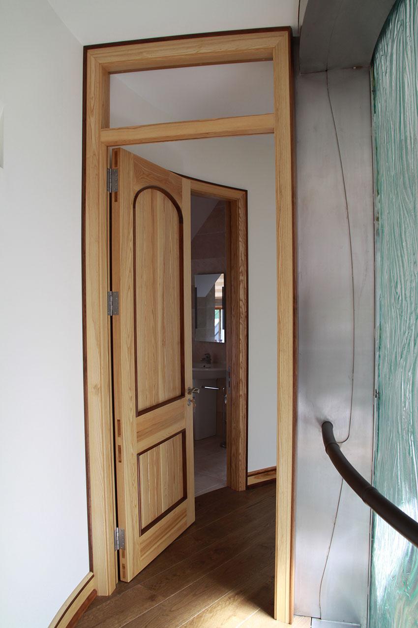 internal solid panel door