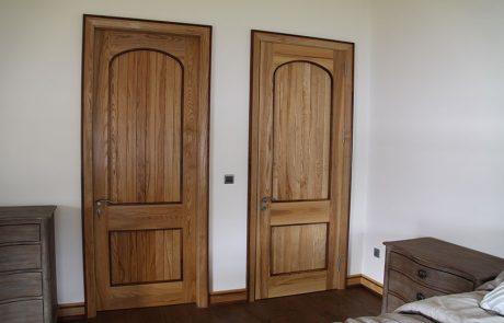 internal solid sheeted door