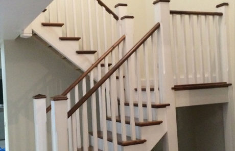 cut string wooden stairs