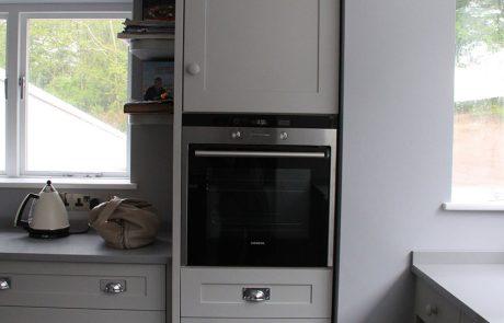 semi - inframe kitchen