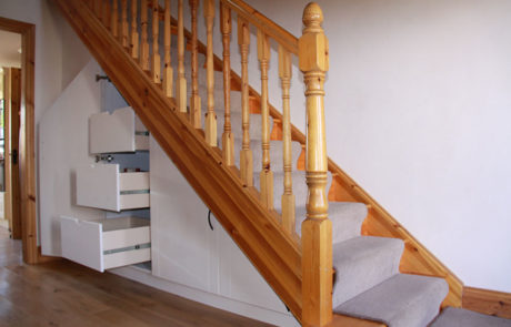 holbein carpentry under stair storage