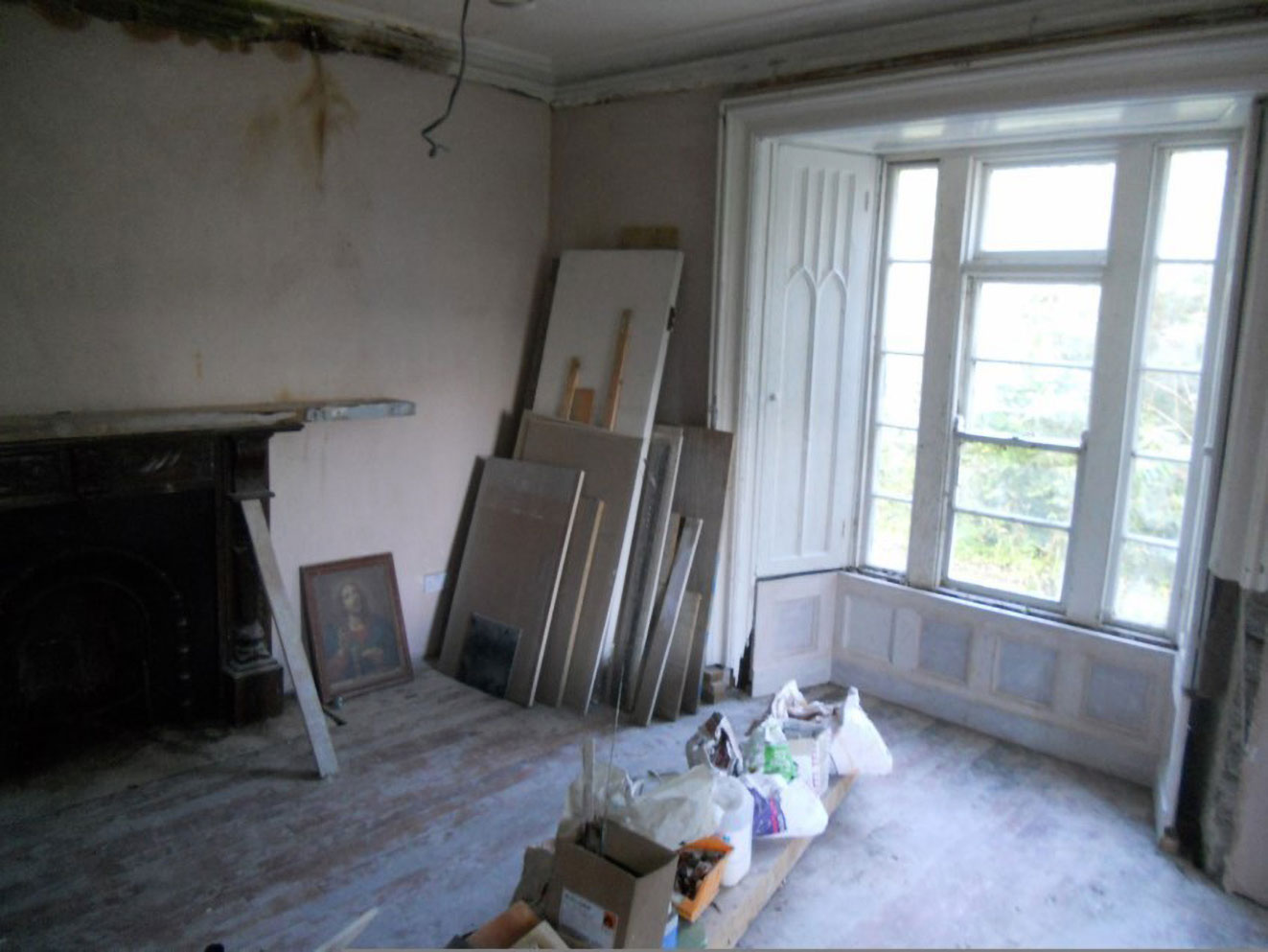 period house living room renovation