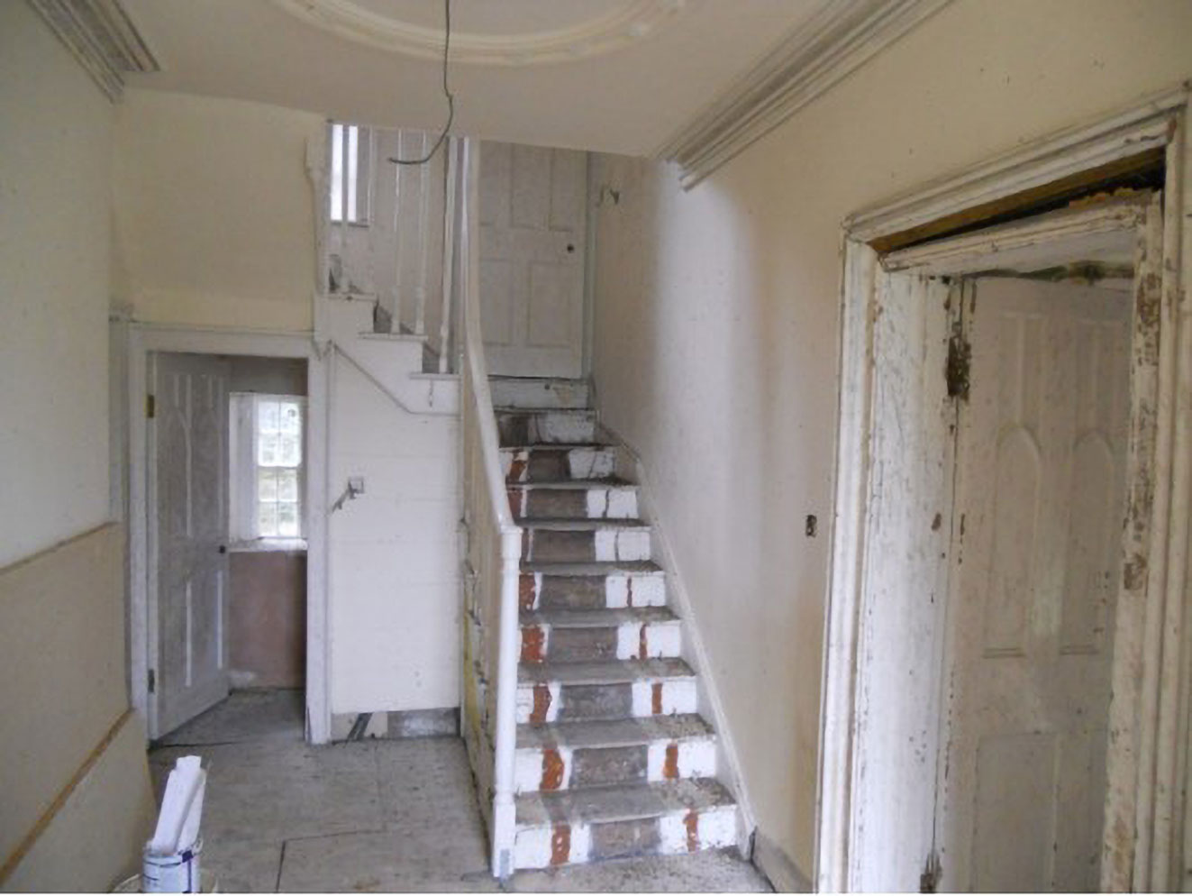period house staircase renovation